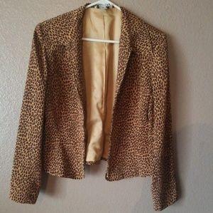 Jackets & Blazers - Cheetah print jacket